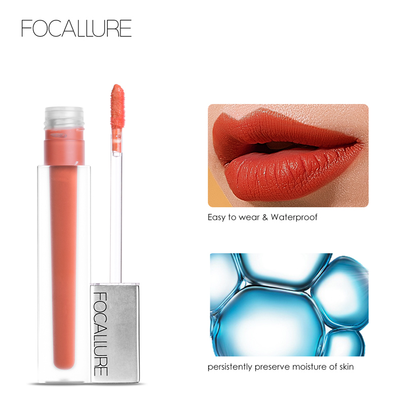 Ultra-matte Quick-drying Transfer-free Waterproof Lipstick