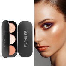 3 Tone Blush & Highlighter Palette