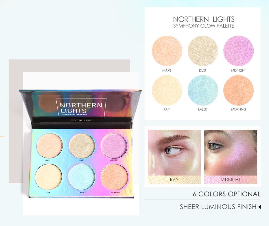 Northern Lights Symphony Glow Palette
