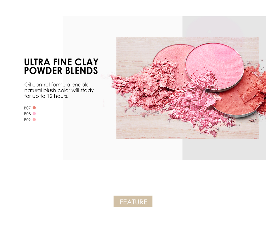 Miss Rose Blush Pressed Powder