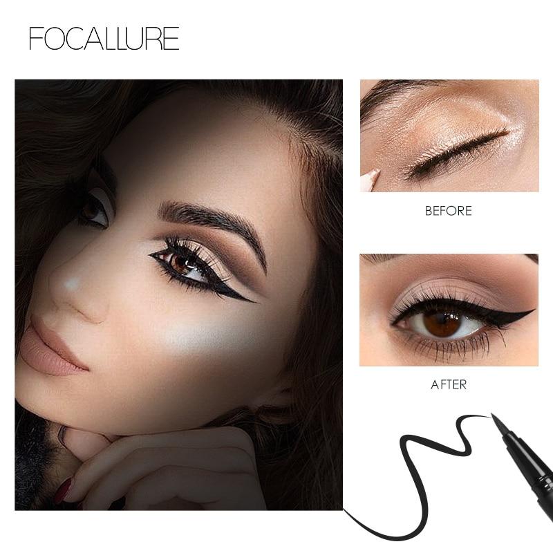 Liquid Eyeliner & Shimmer Eye Shadow