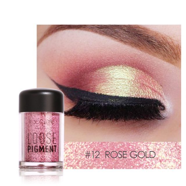 Liquid Eyeliner & Shimmer Eye Shadow