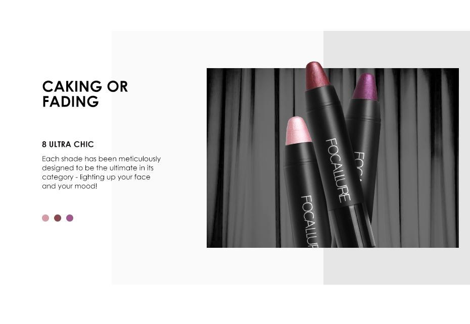 Long-lasting Metallic Crayon