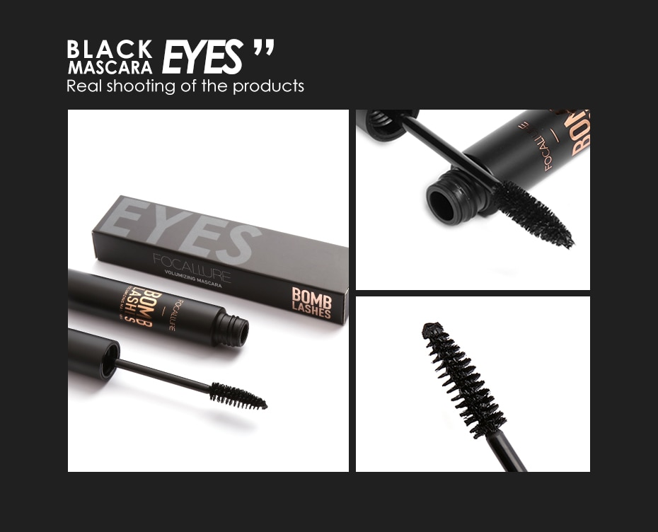 3D Fiber Black Mascara
