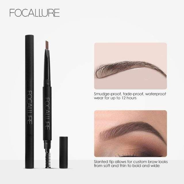 Waterproof Eyebrow Pencil with Brush