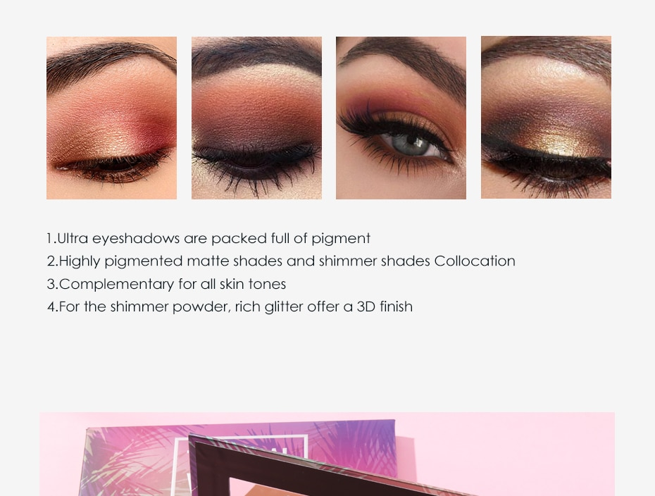 Tropical Vacation Eye Shadow Palette