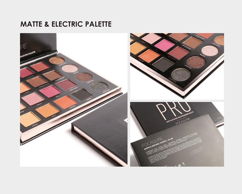 Pro Matte & Electric Palette