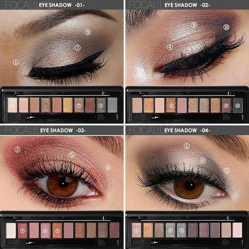 Taupe Shimmer Palette