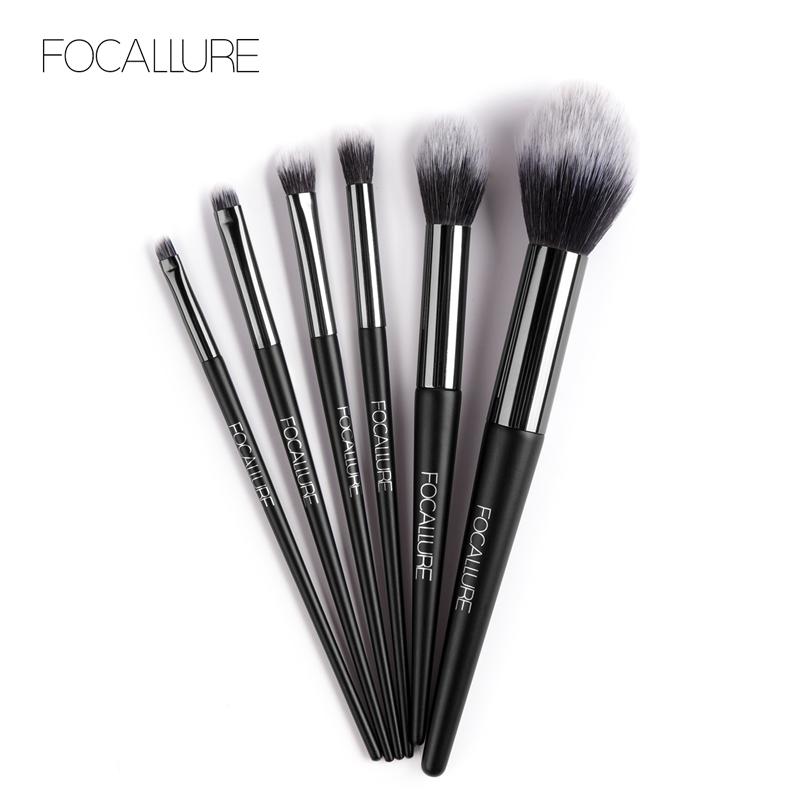 6pc Makeup Brush Set