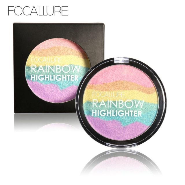 3D Wild Rainbow Highlighter Powder