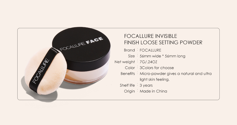 Ultra Light Finishing Loose Powder