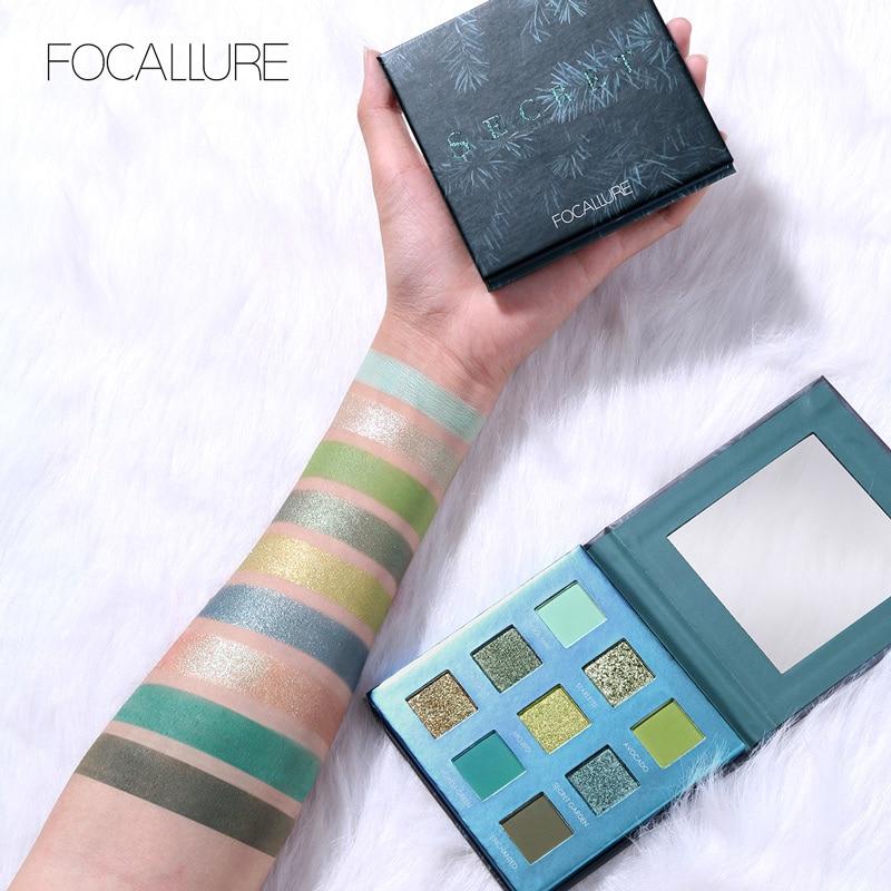 New Green Glitter Eyeshadow Palette
