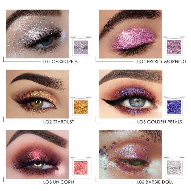 Beach Glitter Eyeshadow